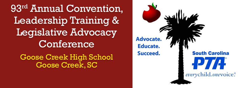 Plan to attend the 93rd Annual Convention in Goose Creek!